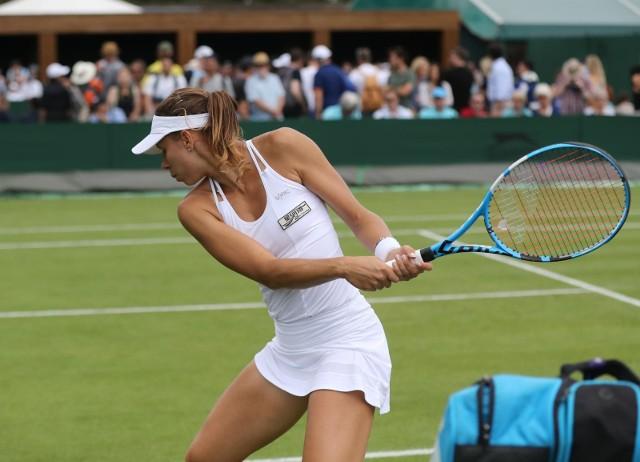 Rok temu Magda Linette dotarła w Londynie do trzeciej rundy