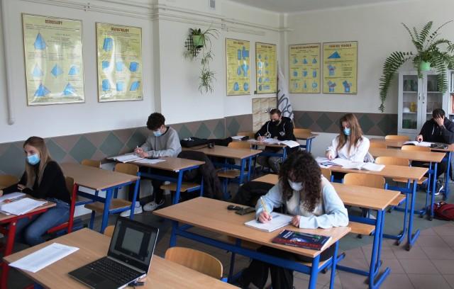 Przedmaturalne zadania z matematyki w ZS1 w Golubiu-Dobrzyniu