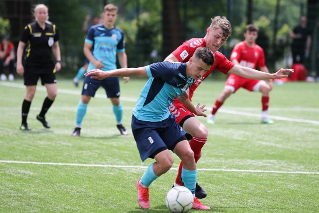 12.06.2021, Kraków: mecz Centralnej Ligi Juniorów U-18 Hutnik Kraków - Górnik Zabrze