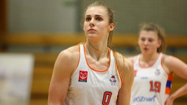 Aleksandra Zięmborska zdobyła 32 punkty dla MUKS i była bohaterką środowego spotkania z KKS Olsztyn (79:72)