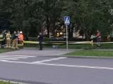 Kraków. Wyciek gazu na Krowodrzy Górce. Ekipy działały na miejscu do późnego wieczora