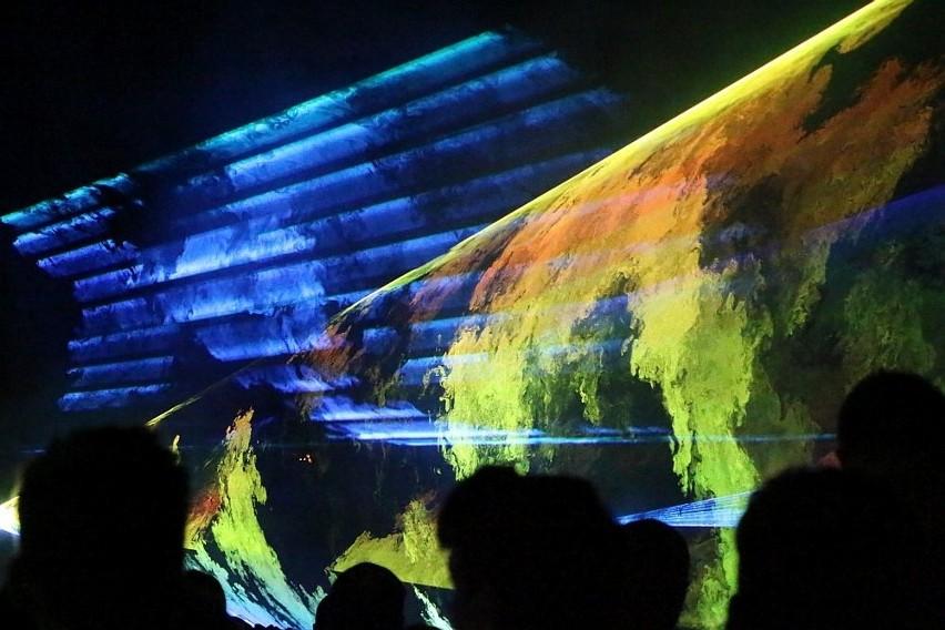 Pokaz laserów był pierwszą odsłona Dni Międzyrzecza.