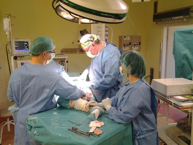 Liderzy Regionu 2012: Szpital Powiatowy w Busku-ZdrojuZabieg endoprotezoplastyki biodra na Bloku Operacyjnym w Szpitalu Powiatowym w Busku-Zdroju.