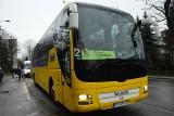 Myślenice. Żółty autobus już jeździ! Dojedziemy nim do Krakowa i z powrotem [ZDJĘCIA]