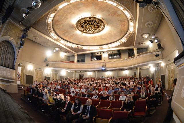 Tak przed rokiem wyglądała gala finałowa plebiscytu Pokażcie klasę w Teatrze Osterwy w Gorzowie