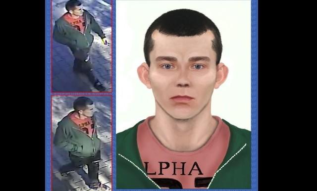 Prokuratura i policja cały czas nie znalazły sprawcy zabójstwa 75-letniej kobiety. We wrześniu 2018 roku, w zaroślach nad rzeką, znaleziono zwłoki pani Jadwigi. Została uduszona. Choć śledczym udało się zabezpieczyć ślady pozostawione przez sprawcę, jego linie papilarne oraz materiał DNA, do tej pory nie wiadomo, kto zabił.ZOBACZ TEŻ: Przestępcy z Wielkopolski poszukiwani przez policję. Widziałeś któregoś z nich? [ZDJĘCIA]Kamery monitoringu zarejestrowały mężczyznę, który może mieć związek z tą sprawą. Specjaliści z Laboratorium Kryminalistycznego Komendy Wojewódzkiej Policji w Poznaniu na podstawie wideo z monitoringu sporządzili wersję wyglądu poszukiwanej osoby.Przejdź do kolejnego zdjęcia --->