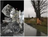 Lubelskie: 20-latek i 19-latka zginęli w dwóch podobnych wypadkach. Para zostanie pochowana razem