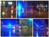 Dwa potrącenia pieszych w Białymstoku. Jedną kobietę potrąciła kierująca jeepem, drugą taksówkarz (zdjęcia)