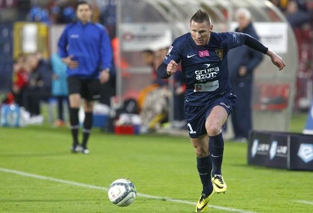 Marcin Robak z Pogoni Szczecin jest jednym z trzech piłkarzy sezonu wyróżnionym przez Canal +.