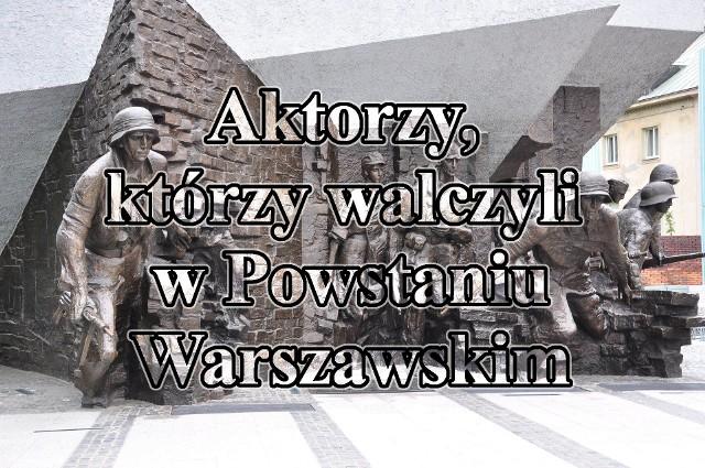 Znamy ich dobrze z ekranów. Ci aktorzy mają bogatą karierę, grali w wielu polskich filmach i sztukach teatralnych. Łączy ich nie tylko profesja - oni wszyscy walczyli w Powstaniu Warszawskim.Zobaczcie zdjęcia aktorów, którzy uczestniczyli w powstańczym zrywie w 1944 roku >>>
