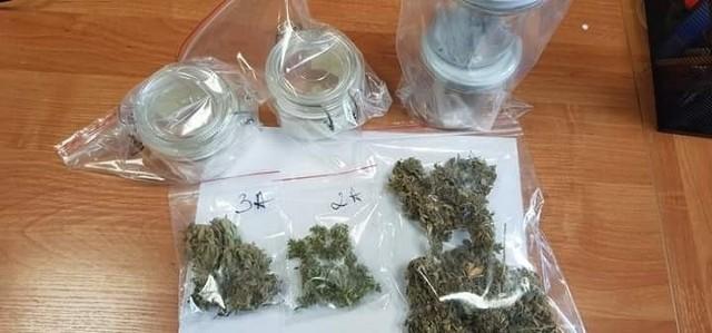 Substancje zabezpieczone przez nakielskich kryminalnych