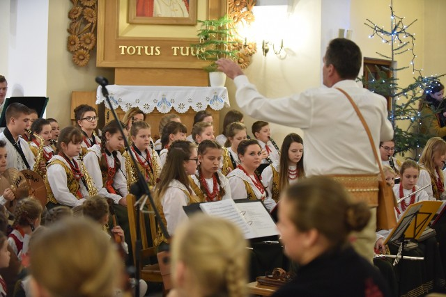 Tak było podczas Koncertu Noworocznego Góralskiej Orkiestry etej ze Skomielnej Czarnej i Bogdanówki w ubiegłym roku
