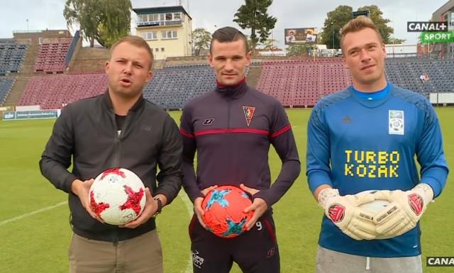 """Adam Frączczak (w środku) świetnie wypadł w """"Turbokozaku"""""""
