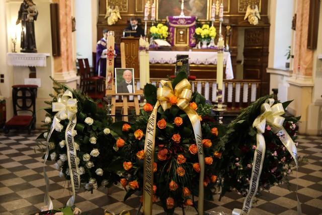 Pogrzeb redaktora Zbigniewa Ringera