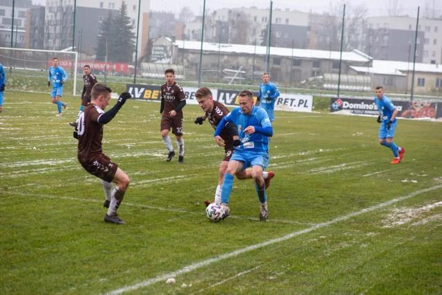 W rundzie jesiennej Garbarnia Kraków pokonała Błękitnych Stargard 3:0. W rewanżu nie strzeliła im gola