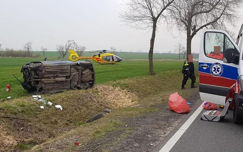 Śmiertelny wypadek w pobliżu autostrady A4. Jak do niego doszło? (ZDJĘCIA)