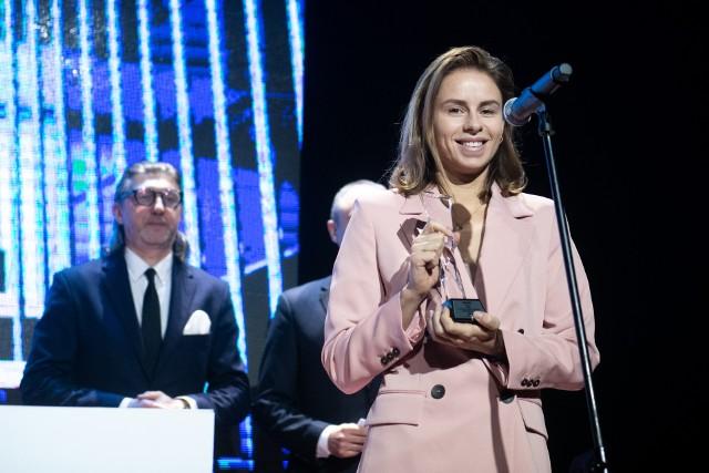 Magda Linette podczas Enea Gali Sportu miała najwięcej powodów do radości, ale pozostali laureaci też byli w dobrym nastroju