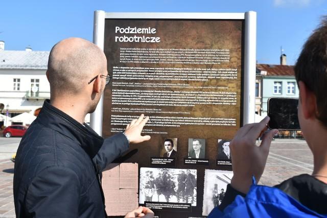 Otwarcie wystawy partyzanckie wspomnienia w Olkuszu