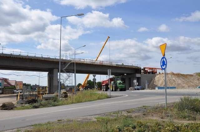 budowa ostatniego etapu Trasy Średnicowejwiadukt nad ulicą Szosa Toruńska