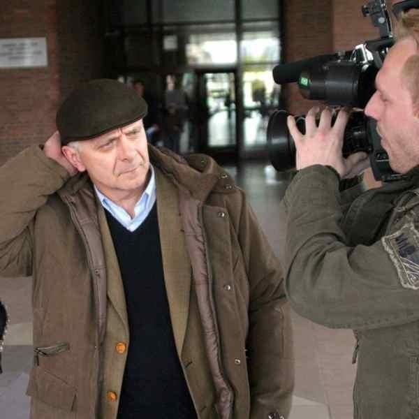 Były premier Marek Belka nie chciał wczoraj rozmawiać z dziennikarzami.
