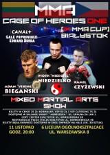 IX Gala MMA CUP Wschód 2017 / CAGE of Heroes ONE odbędzie się w VI LO w Białymstoku