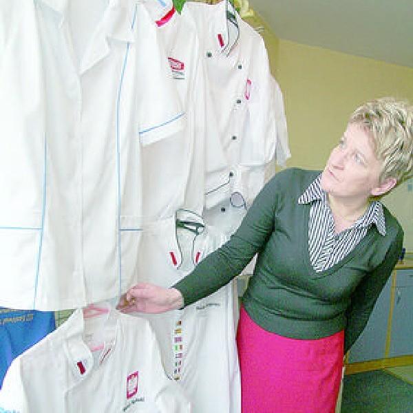 - Szyjemy stroje dla kucharzy - mówi Anna Rogozińska, właścicielka ChemaN.