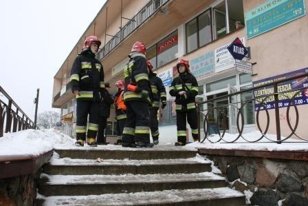 Strażacy nie napracowali się podczas gaszenia pożaru.