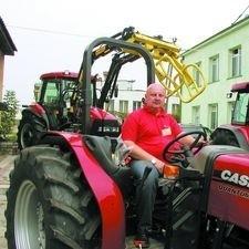 Nowy traktor - kabriolet Case wzbudza zainteresowanie wśród wielu odwiedzających Agromę - mówi Paweł Waleryś
