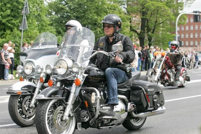 Parada Harleyów we Wrocławiu
