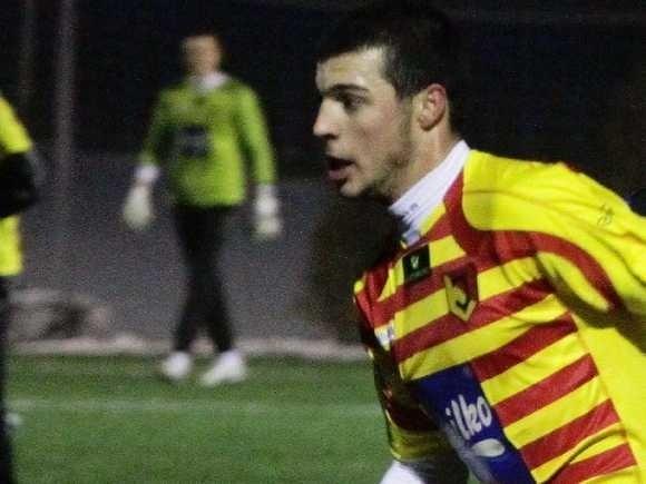 strzelił dwie bramki w Turcji