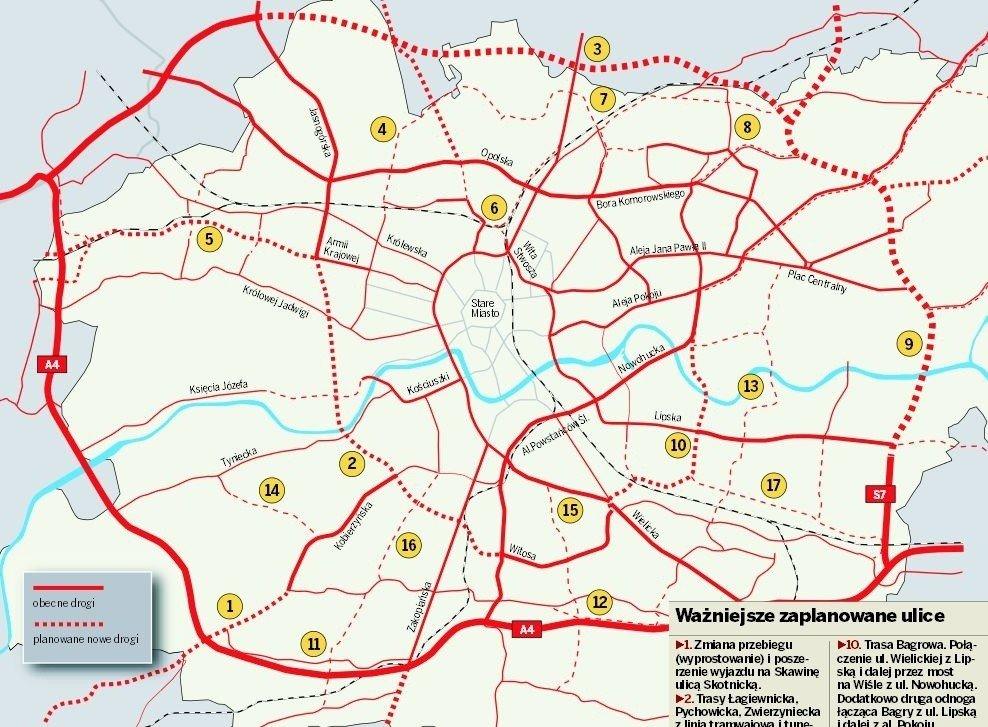 Krakow Jakie Drogi Powstana Do 2030 Roku Na Rozbudowe Miasta