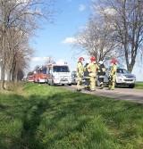 Wypadek w Popowie Starym. Nie żyje rowerzysta potrącony przez samochód dostawczy