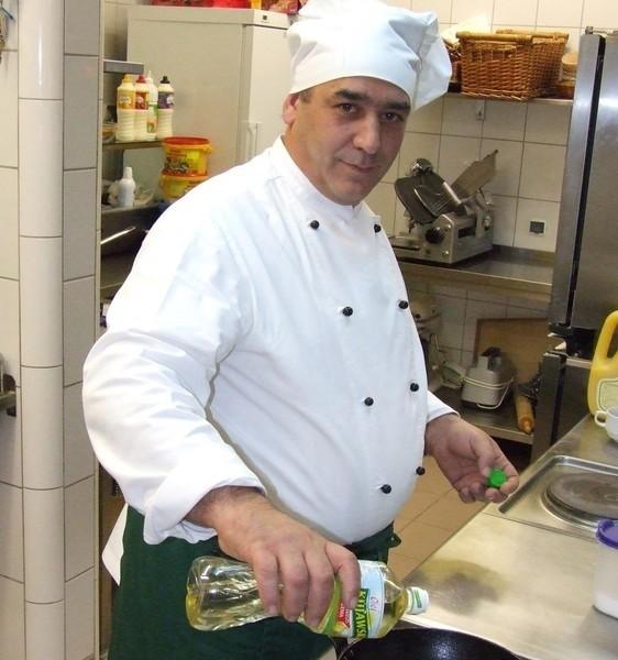 Włoch Giancarlo Righi pracuje w restauracji polkowickiego Aqua Hotelu. W Polsce czuje się doskonale