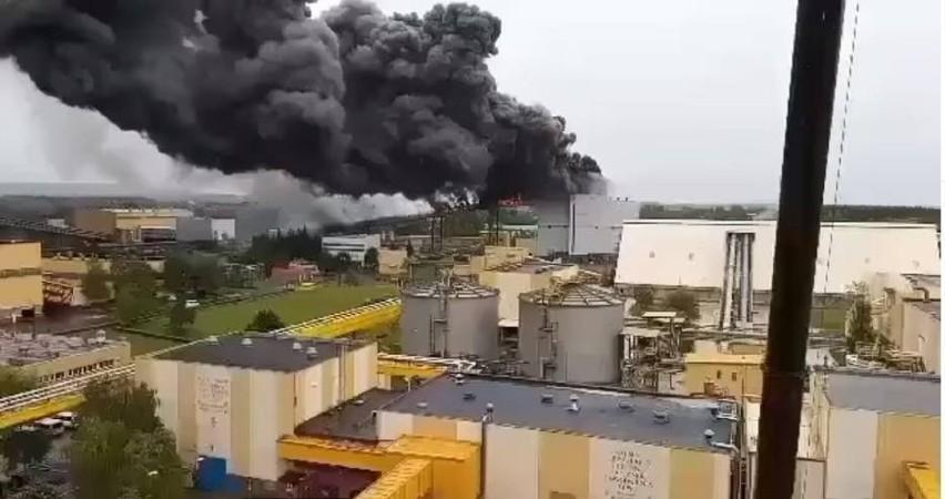 Łódzkie. Pożar w elektrowni Bełchatów. Pożar przenośników węglowych na terenie Elektrowni Bełchatów. Kolejny wypadek w elektrowni