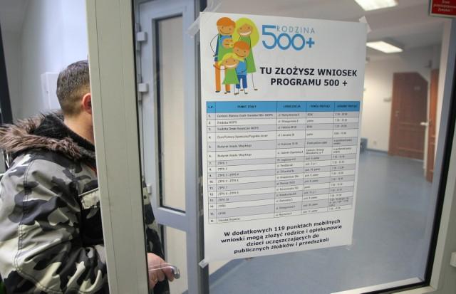 Rodzina 500+ składanie wniosków w MOPS we Wrocławiu.
