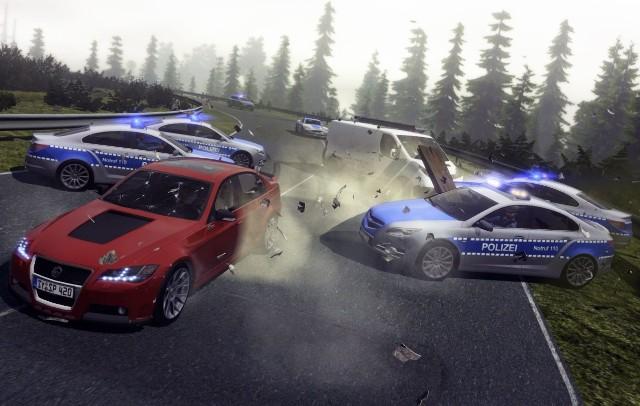 Crash Time 5: UndercoverTak się kończy większość pościgów w grze Crash Time 5: Undercover