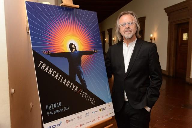Jan A. P. Kaczmarek zaprezentował plakat tegorocznej edycji festiwalu Transatlantyk