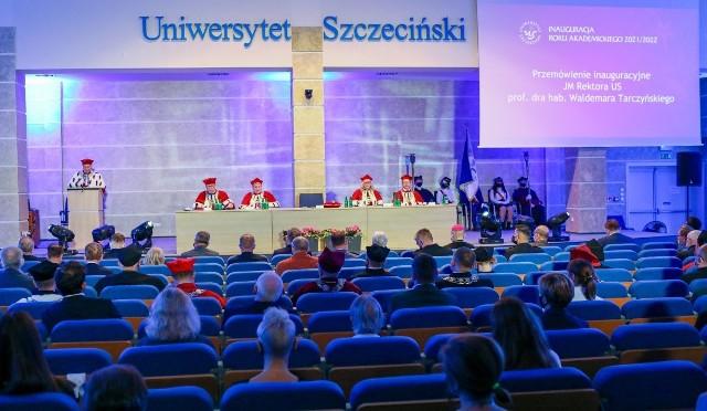 Uroczystość rozpoczęcia roku akademickiego 2021/2022 na Uniwersytecie Szczecińskim