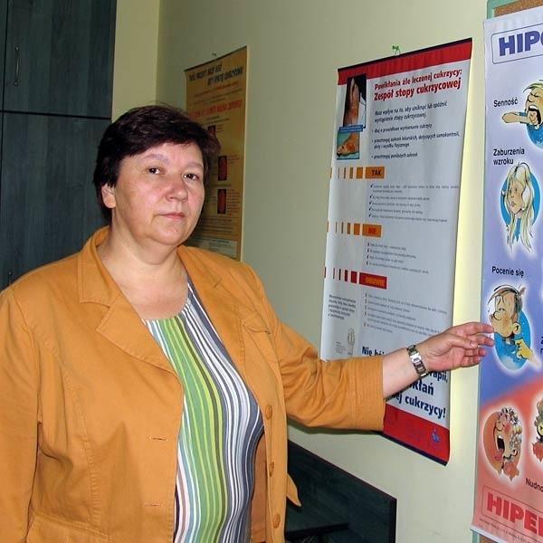 - Kobiety rodzą coraz później, dlatego rośnie liczba ciężarnych z cukrzycą - mówi Joanna Kędzierska.