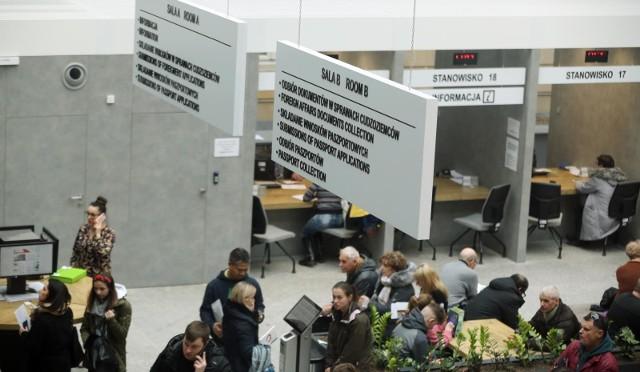 12.02.2020 wroclawurzad wojewodzki biuro paszportow paszport paszportowe gazeta wroclawskatomasz holod / polska press