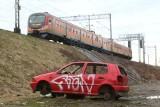 Wrocław widziany z okien pociągu. Obraz nędzy i rozpaczy