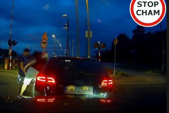 Pogoń za pijanym kierowcą ulicami Wadowic