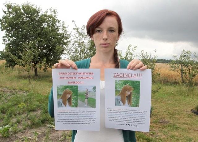 - Czekamy na wszelkie informacje o mojej siostrze – mówi Agnieszka Kobyłka.