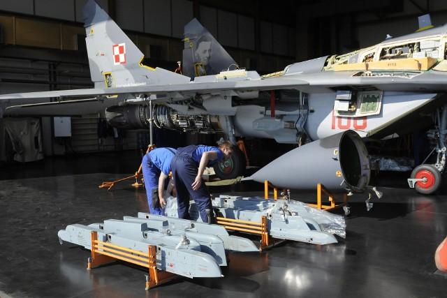 Wszystkie myśliwskie Migi-29, które ma polska armia, przechodzą przeglądy i modernizacje w WZL nr 2 w Bydgoszczy.