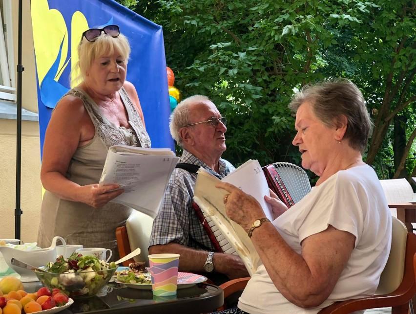 Piknik seniora, czyli uczta dla ducha i ciała, zorganizowany...