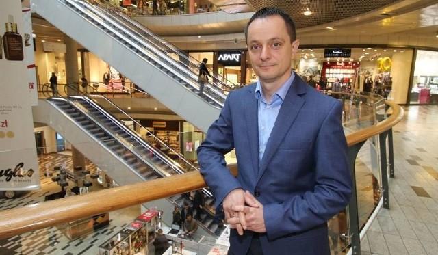Krzysztof Kucharski, dyrektor Galerii Korona.
