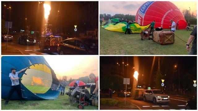 Loty balonowe są planowane do soboty, w godzinach: 5.00 i 19.00