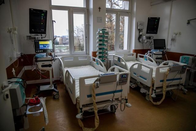Szpital tymczasowy przy ul. Żurawiej - budynek E1.