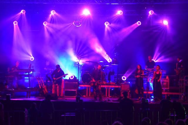 Koncert Cadillac w Dąbiu podczas Lubuskiego Lata Kulturalnego 2021.