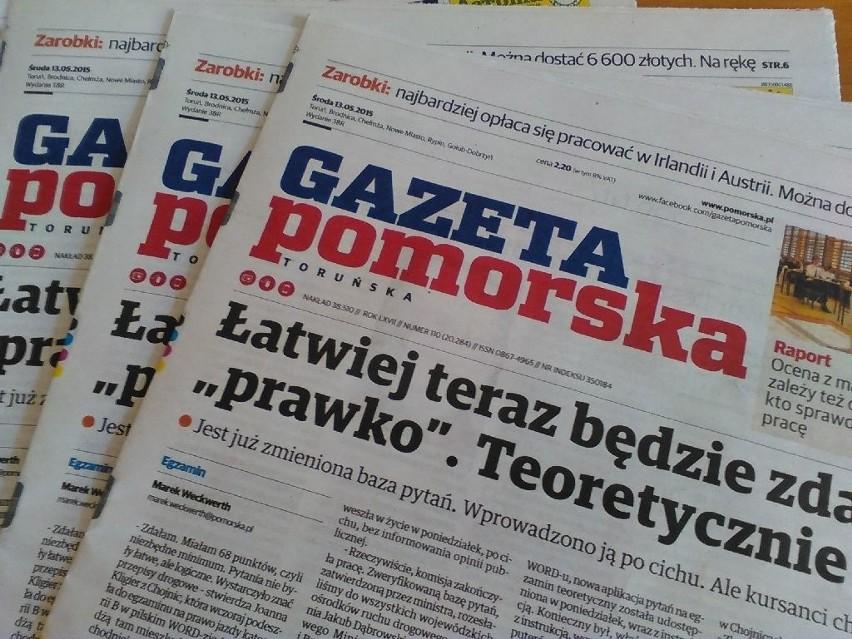 Gazeta Pomorska szuka dziennikarzy